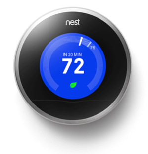 nest programmable thermostat